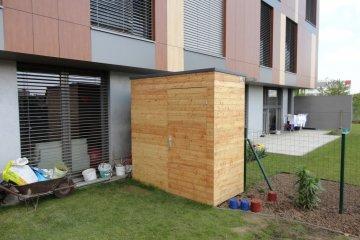 Zahradní domek na nářadí S2,5 - 2,15 x 1 m - Praha-Libuš