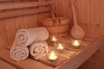 Sauna 4x2,5 m + sklad S4 1,7 x 2,5 m