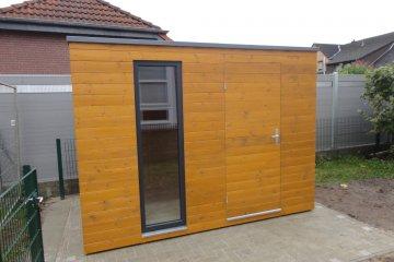 Zahradní domek 3,1 x 1,8 m pro Mateřskou školku - Uetze