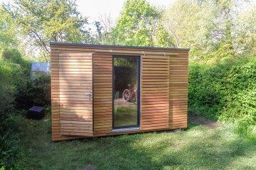 Zahradní domek na nářadí 3,78 x 2,84 m - Augsburg
