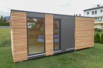 Designový zahradní domek s deskami Fundermax - S12 - Weisskirchen