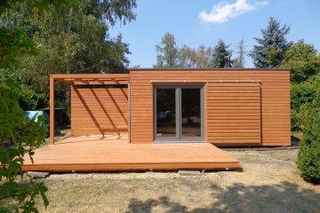 Modulový dřevěný dům NATURHOUSE D6x6 - Landshut