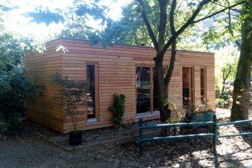 Modulový zahradní dům NATURHOSE D9x3 - 8,85x4 m - Želízy
