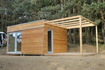 Modulový dům 5 x 3,5 m - Nový Knín