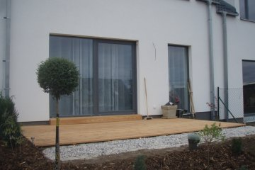 Dřevěná terasa - Losiná