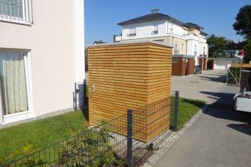 Malý zahradní domeček 1,2 x 1,98 m - Straubing
