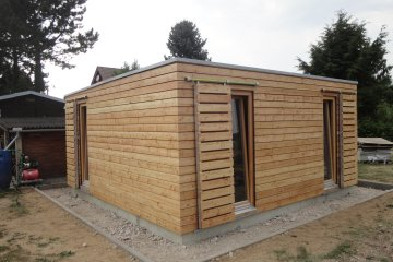 Dřevěný zahradní domek s okenicemi S24 - Wilthen