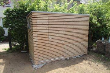 Dřevěný domek na zahradní nářadí NATURHOUSE S5 - Frankfurt
