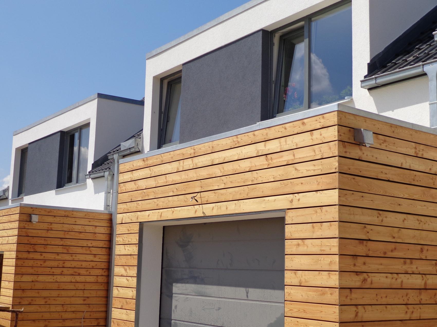 Dřevěné obložení fasády